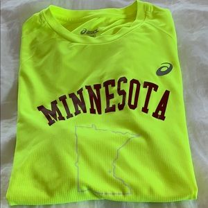 ASICS Running Shirt with Minnesota logo